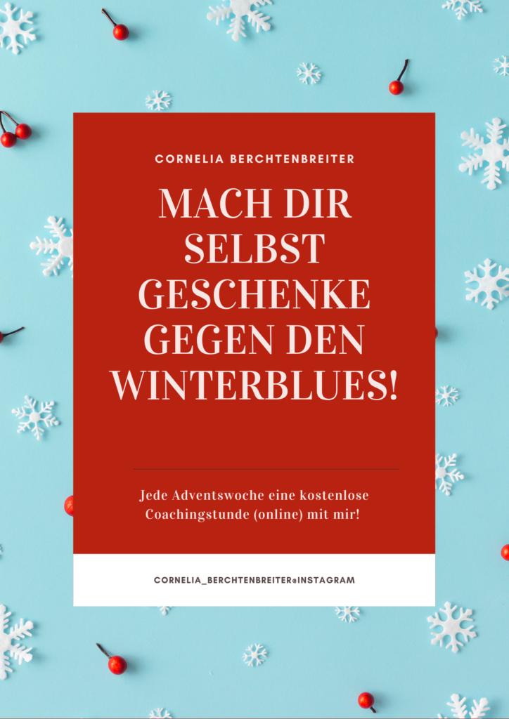 Gegen den Winterblues Ressourcentauchen Aktion Advent