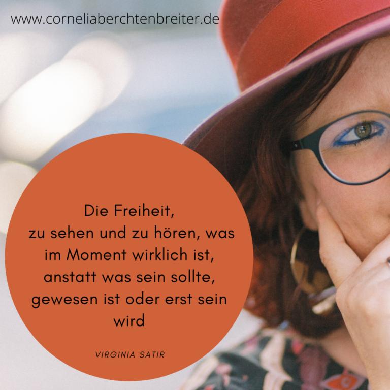 Cornelia Berchtenbreiter Virginia Satir 5 Freiheiten Virginia Satir