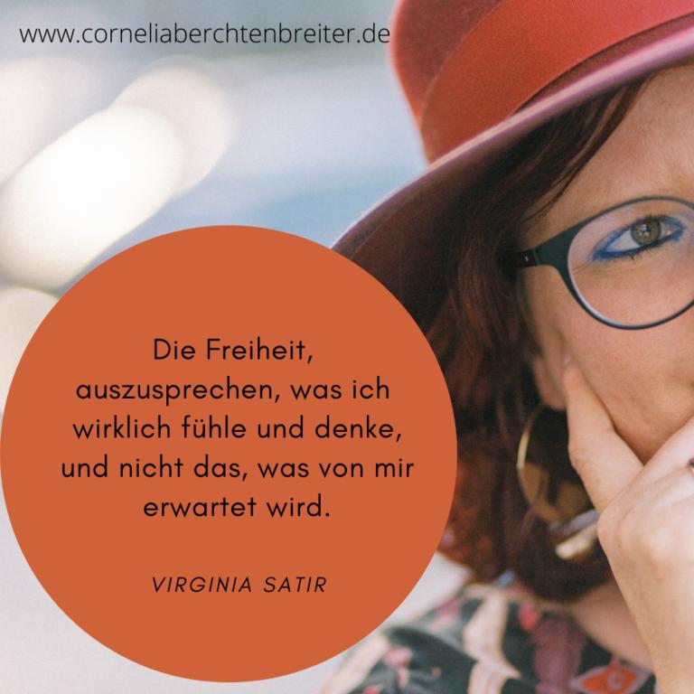 Cornelia Berchtenbreiter 5 Freiheiten nach Virginia Satir