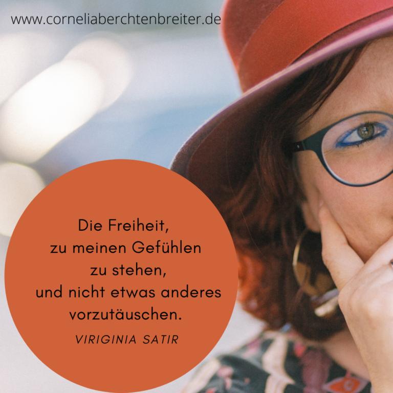 Cornelia Berchtenbreiter 5 Freiheiten Virginia Satir
