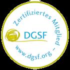 DGSF Logo Zertifiziertes Mitglied