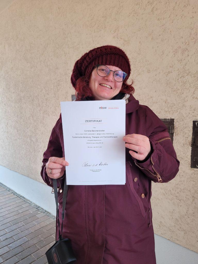Cornelia Berchtenbreiter Systemische Therapeutin und Familientherapeutin (DGSF)